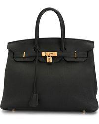 Hermès Bolso de mano Birkin 35 2016 pre-owned - Negro