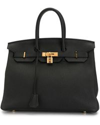 Hermès 2016 Pre-owned Birkin 35 Handbag - Black