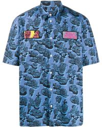 Stella McCartney Ricky Organic Cotton Shirt - Blue