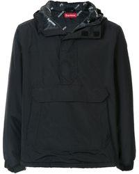 Supreme Half-zip Pullover - Black