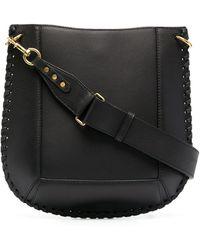 Isabel Marant Interwoven-detail Shoulder Bag - Black