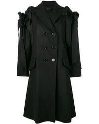 Simone Rocha - Ruffle Bow Coat - Lyst