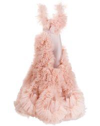 Loulou Cloud チュール ドレス - ピンク