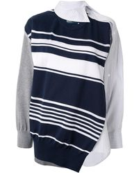Kolor - アシンメトリー セーター - Lyst