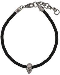 Northskull Atticus Skull Cord Bracelet - Многоцветный