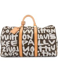 Louis Vuitton Sac fourre-tout Keepall 50 - Marron