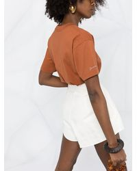 Jacquemus グラフィック Tシャツ - ブラウン