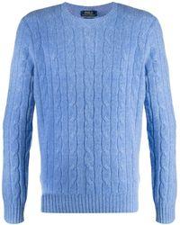 Polo Ralph Lauren - ケーブルニット カシミア セーター - Lyst