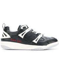 Damir Doma Sneakers mit Schnürung - Schwarz