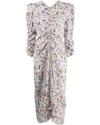 Isabel Marant パターン ドレス - マルチカラー