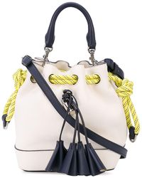 Marc Jacobs Borsa a secchiello The Drawstring - Bianco