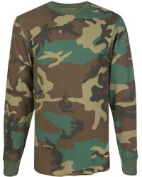 Supreme X Hanes Camouflage Thermals - Green