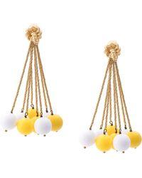 Aurelie Bidermann - Ball Charm Earrings - Lyst