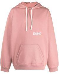 OAMC グラフィック パーカー - ピンク