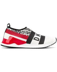 DKNY - Zapatillas reese estilo slip-on - Lyst