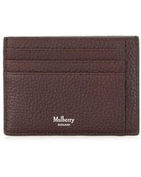 Mulberry Tree Plaque Cardholder - Brown