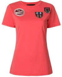 Mr & Mrs Italy - Multi-patch T-shirt - Lyst