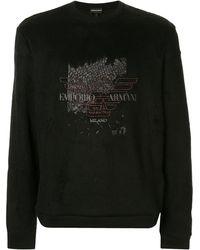 Emporio Armani - ロゴ スウェットシャツ - Lyst