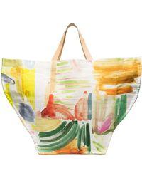 Rosie Assoulin Vessel Tote Bag - White