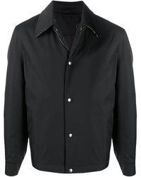 Ferragamo Куртка С Контрастным Воротником - Черный