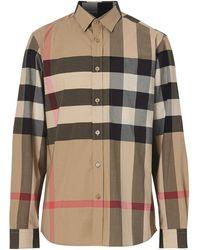Burberry Рубашка В Клетку - Многоцветный