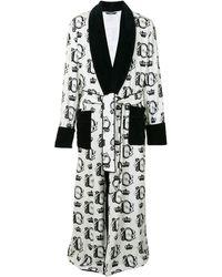 Dolce & Gabbana - Badjas Met Barok Logo - Lyst