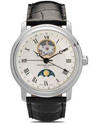 Frederique Constant Reloj Classics Heart Beat Moonphase de 40mm - Blanco