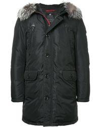 Loveless - Padded Faux Fur Hood Jacket - Lyst