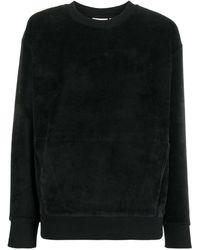 Carhartt WIP ベロア スウェットシャツ - ブラック