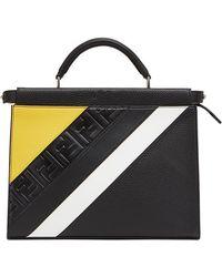 Fendi - Mini Peekaboo Fit Bag - Lyst