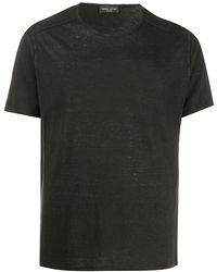 Roberto Collina ライトウェイト Tシャツ - ブラック