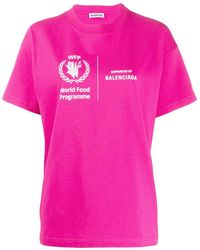 Balenciaga - World Food Programme Tシャツ - Lyst