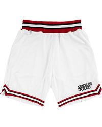 Stadium Goods Chi Logo-print Track Shorts - White