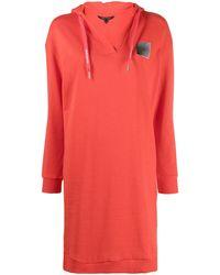 Armani Exchange - ロゴパッチ ドレス - Lyst