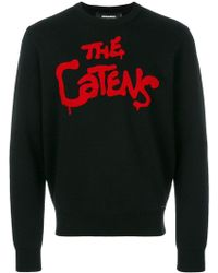 DSquared² - The Catens Intarsia Jumper - Lyst