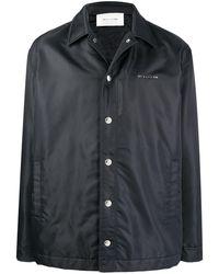 1017 ALYX 9SM Куртка-рубашка С Логотипом - Черный