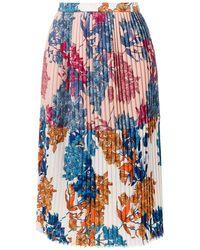 À La Garçonne Pleated Skirt - ブルー