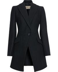 Burberry - Herringbone Wool Cashmere Blend Tailored Jacket - Lyst