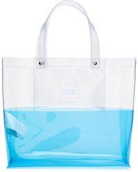 Opening Ceremony Bolso shopper con logo - Azul