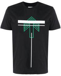Les Hommes - グラフィック Tシャツ - Lyst