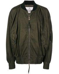 Vivienne Westwood オーバーサイズ ボンバージャケット - グリーン