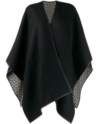 Ferragamo Reversible Shawl - Black