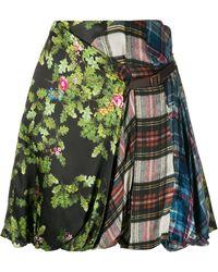 Preen By Thornton Bregazzi Print Mix Skirt - Green