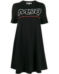McQ ベビードール ドレス - ブラック