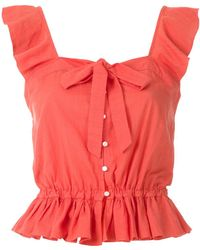 Clube Bossa Sam Cropped Top - Pink