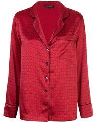 Kiki de Montparnasse Пижама С Узором - Красный