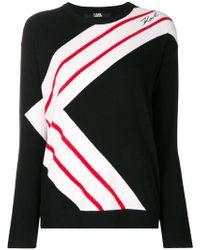 Karl Lagerfeld - K-striped Jumper - Lyst
