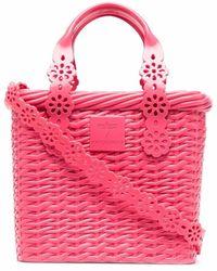 Viktor & Rolf X Melissa Possession Lace Tote Bag - Pink