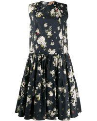 N°21 - フローラル ノースリーブドレス - Lyst