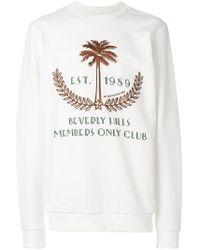 ih nom uh nit 'Beverly Hills' Sweatshirt - Weiß